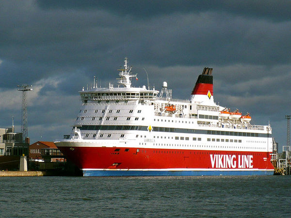 Viking Line car ferry and cruise ship