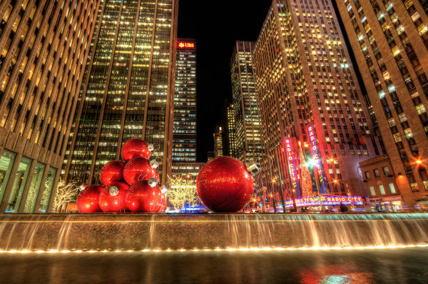 Enjoy a snowy christmas holiday in new york city 365 for Immagini new york a natale
