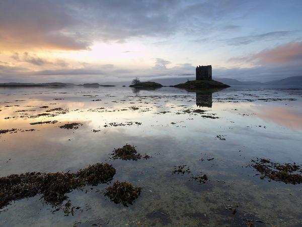 Castle Stalker ~ Loch Laich, Scotland