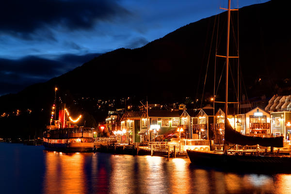 Quiet Night in Queenstown